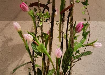 Gesteck von der Blumen Garage