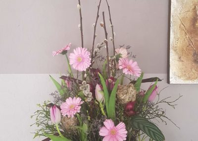 Gesteck von der Blumen Garage in Memmingen