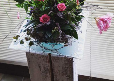 Dekorieren mit Naturmaterialien - Die Blumen Garage
